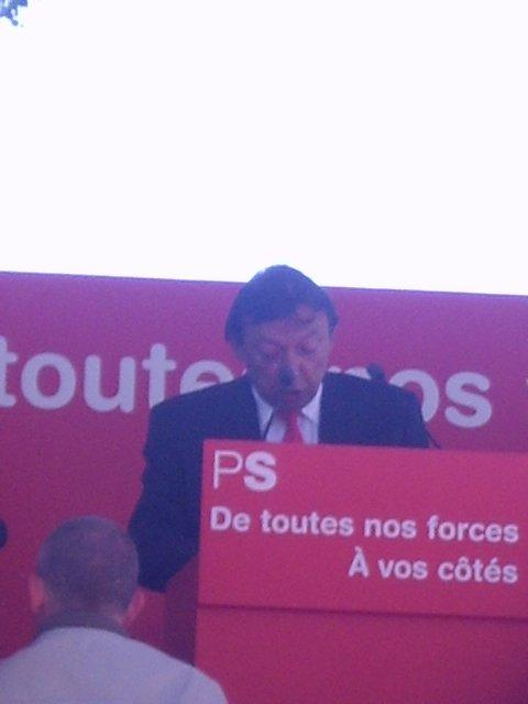 "1 mai 2007 au kiosque PS avec ""Papa"""