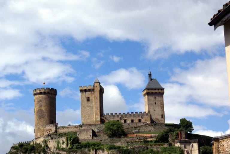 21 mai 15 Le chateau de Foix