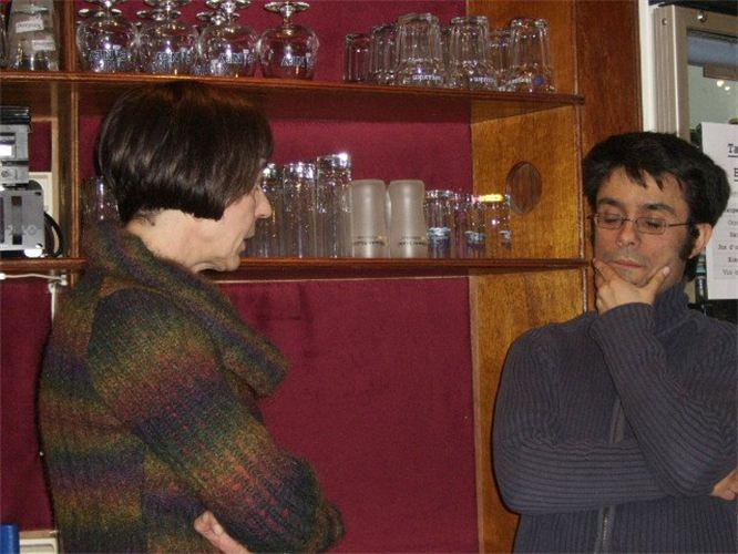 Avec Manu Madera Perez au Moderne