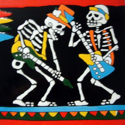 La mort en carrelages - Pairi Daïza - 19 juin 2018