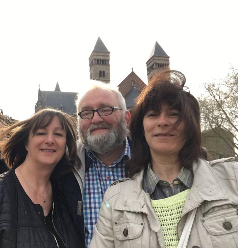 2 mai 16 A maastricht avec Annick et Jacques