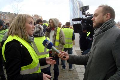 22 déc 2018 interview Stéphanie par RTL-TVI