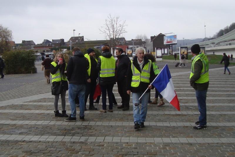 Arrivée desamis Français de Lille