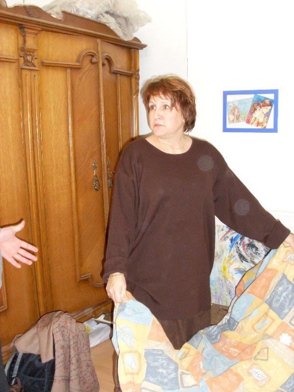 Madame de Senarclens s'installe à Cheratte