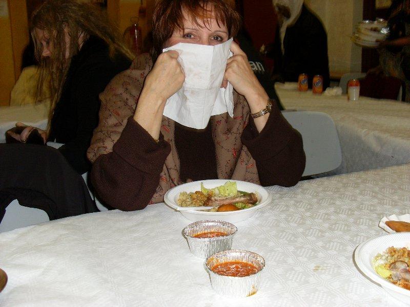 10 février 2008 dans un resto halal à Liège