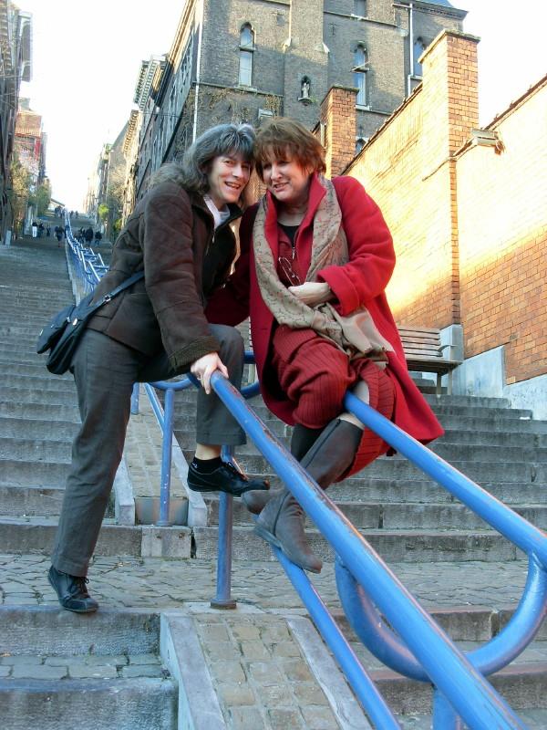 Avec Pati à la Montagne... de Bueren à Liège