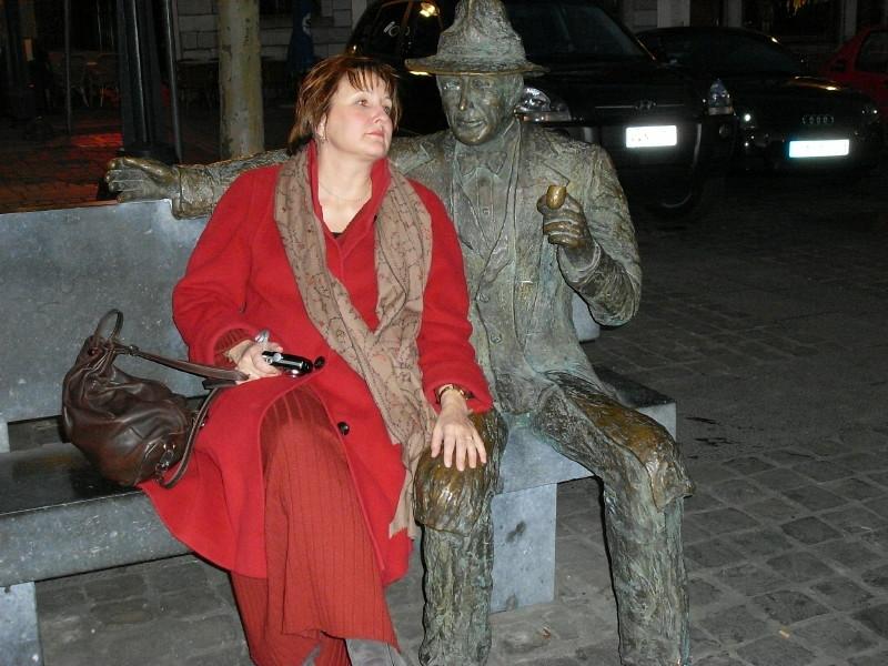 Avec Georges Simenon
