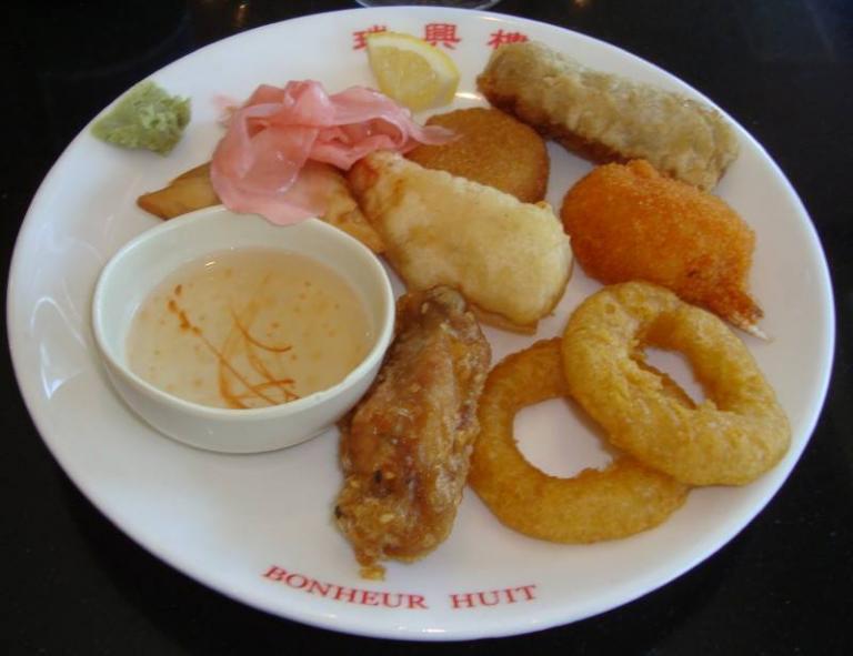 Juillet 2016 à Honfleur - restaurant asiatique
