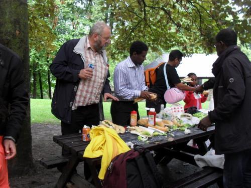 14 août 2010 à Wégimont avec les amis de LîDjibouti