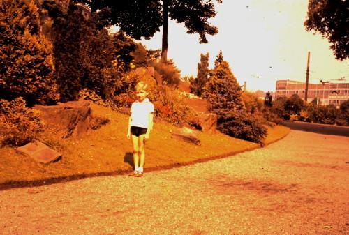 Au Parc de la Boverie en 1960 (?)