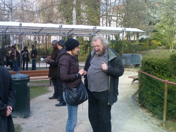 23 mars 2009 Parc Gandhi à Bruxelles