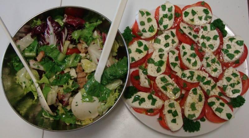 28 août 2016 Salades d'Annick
