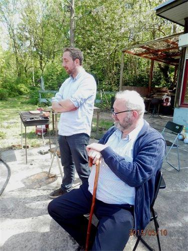 Mai 2014 avec Yoann à Seraing (communuon d'Erwann)