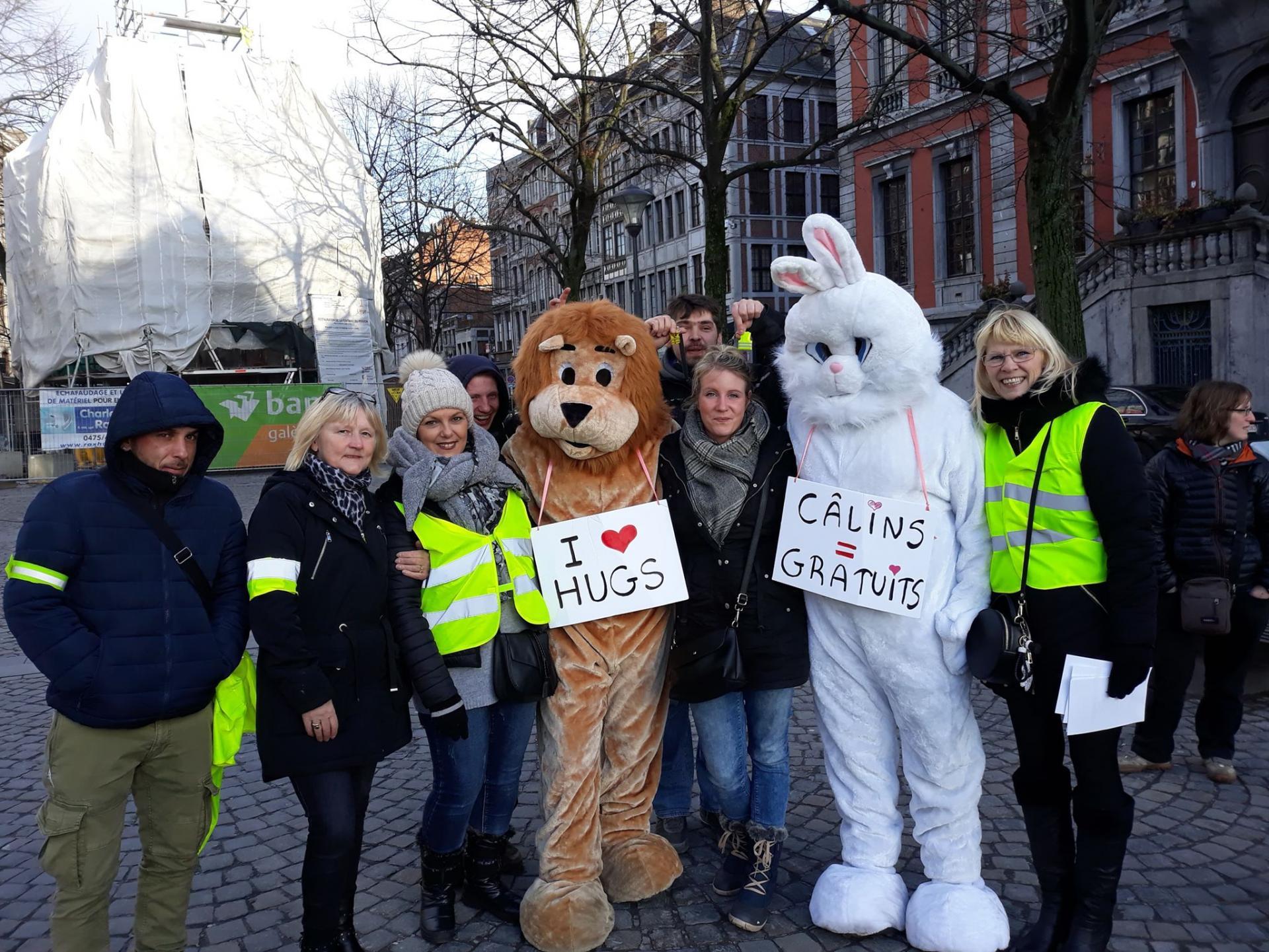 3 février 2019 Place du Marché à Liège