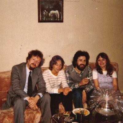 6 juillet 1978 chez Lili M. avec Suzanne F. et Jean-Paul K.