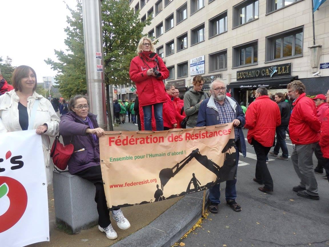8 octobre 2015 à Bruxelles