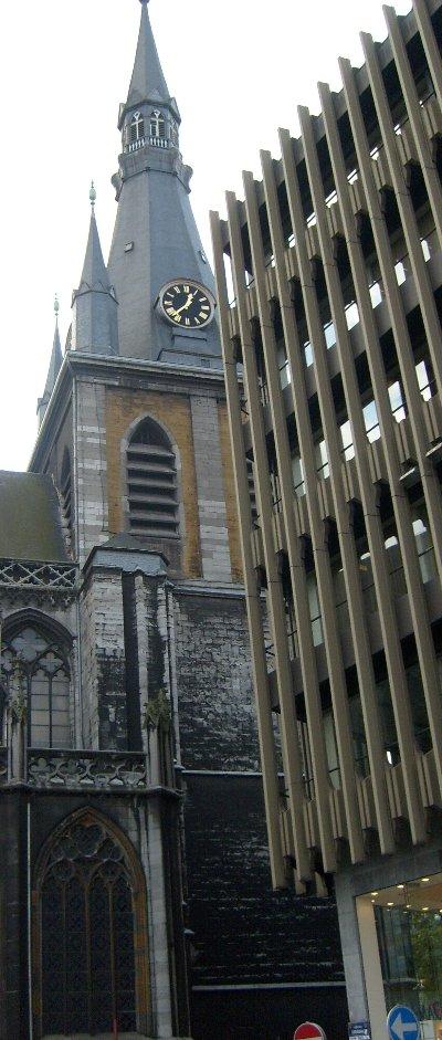 Cathédrale de Liège coin Tournant Saint Paul 2008