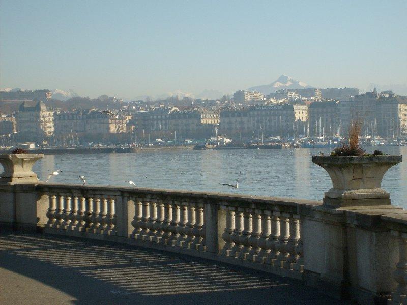 Le Lac à Genève