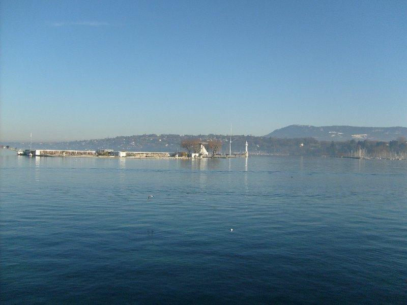 Lac à Genève