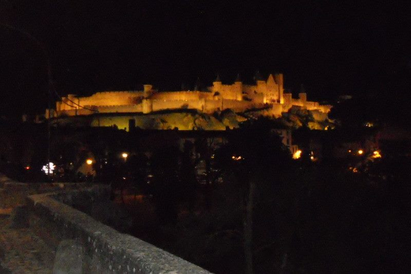 Carcassonne by night  25 mai 2015