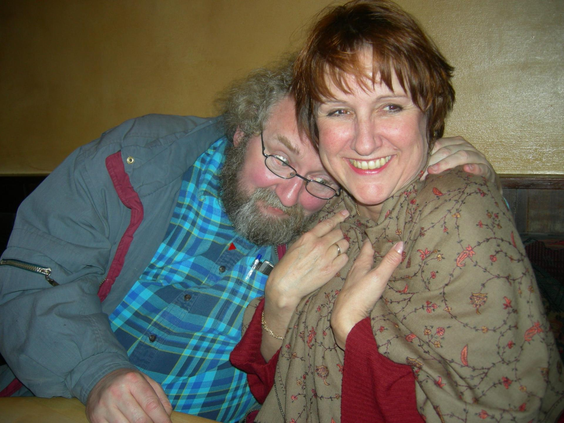 10 février 2008 avec Marie-Claire à Liège