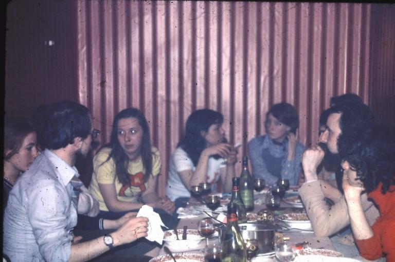 1er mai 1976 à l'El Djezaïr à Liège avec la JC