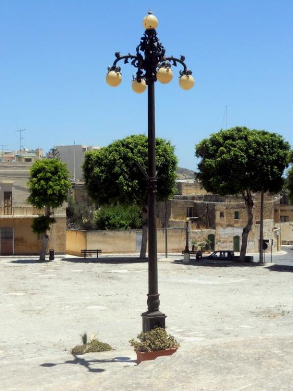 Gozo Mgarr lampadaire