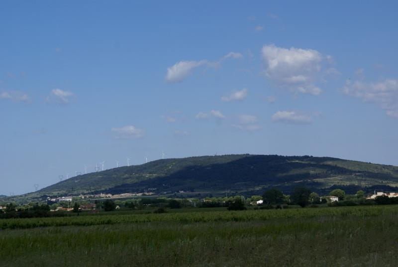 21 mai 2015 Montagne Noire vue de Homps