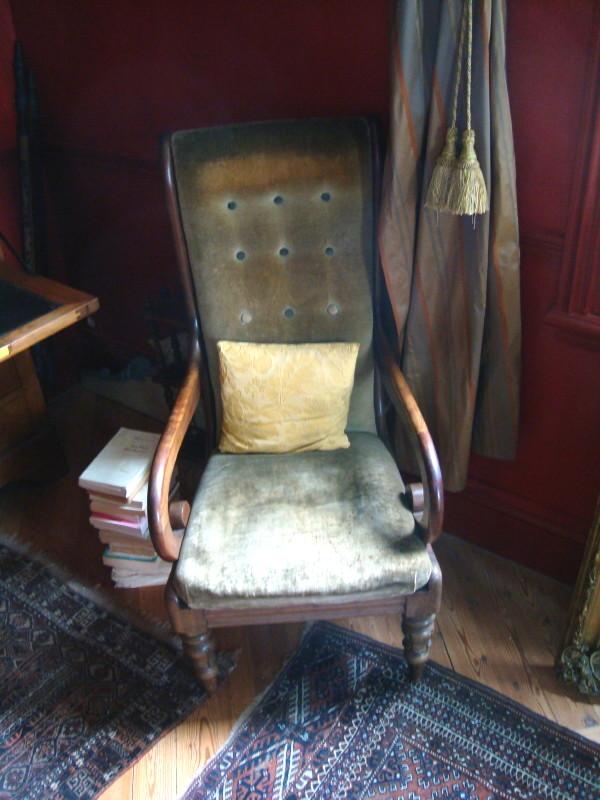 fauteuil du lecteur