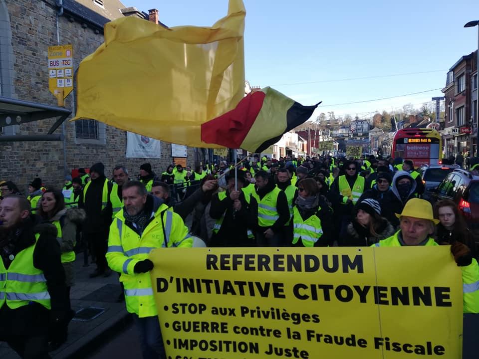 Namur 19 janvier 2019