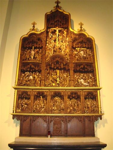 Retable à l'Eglise Saint Denis à Liège
