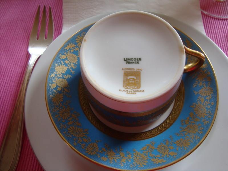 La vaisselle... du véritable Limoges !