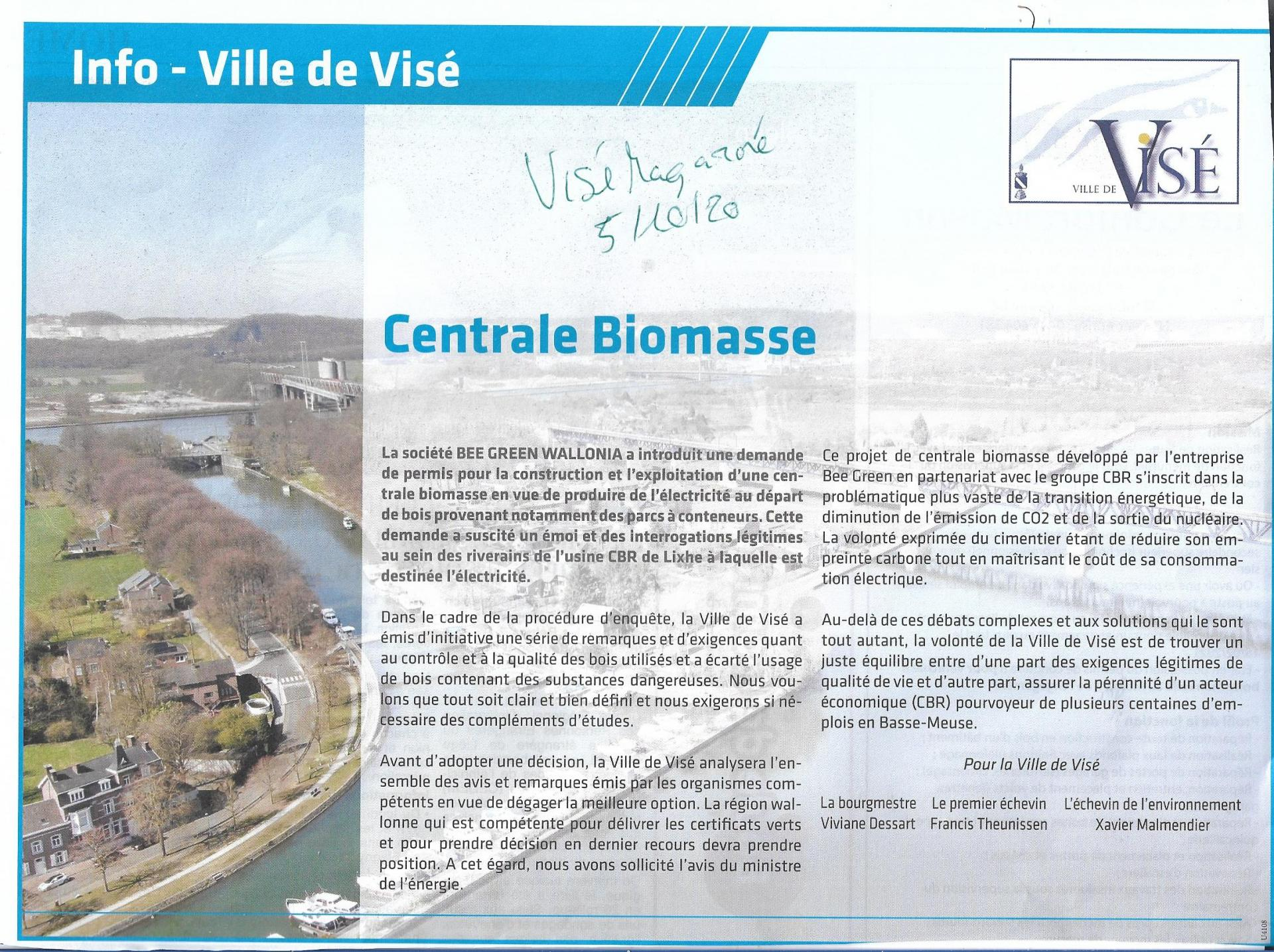 Biomasse vise mag oct 2020