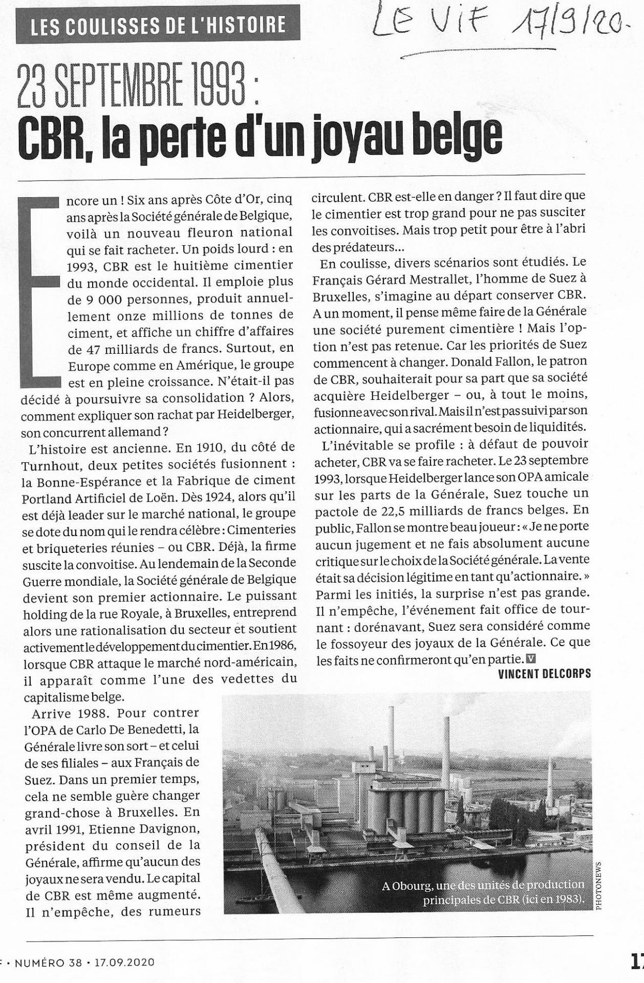 Levif article cbr 17 sept 2020