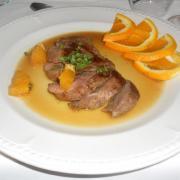 Malte canard a l orange