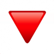 Red triangle pointed down