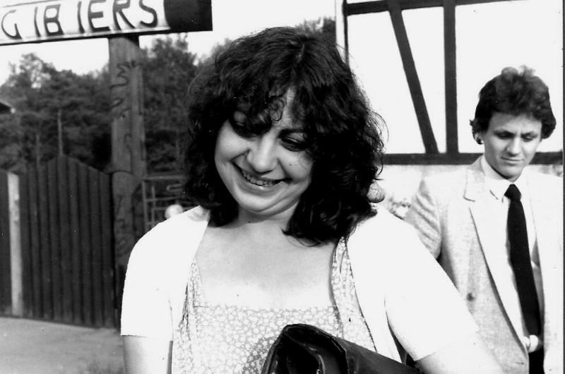 Rosa Martinez et derrière : mon cousin Philippe Guisset, 7 juin 1980 1