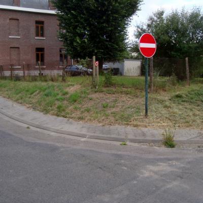 Rue st simeon vu du coin